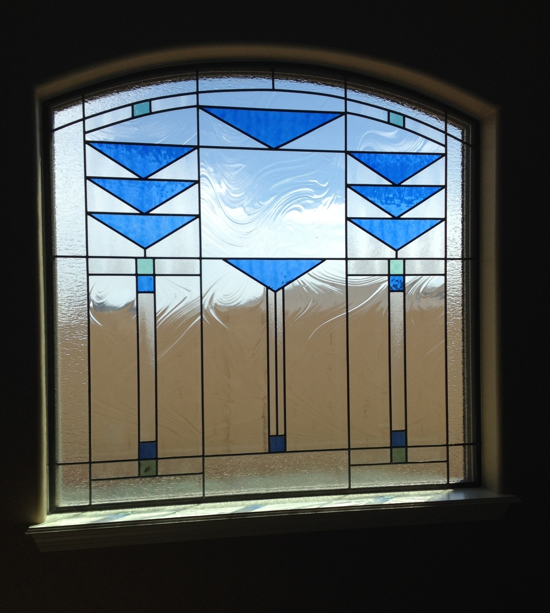Custom window examples kachina stained glass - Eco friendly large glass windows offering effective energy savings for contemporary residence ...