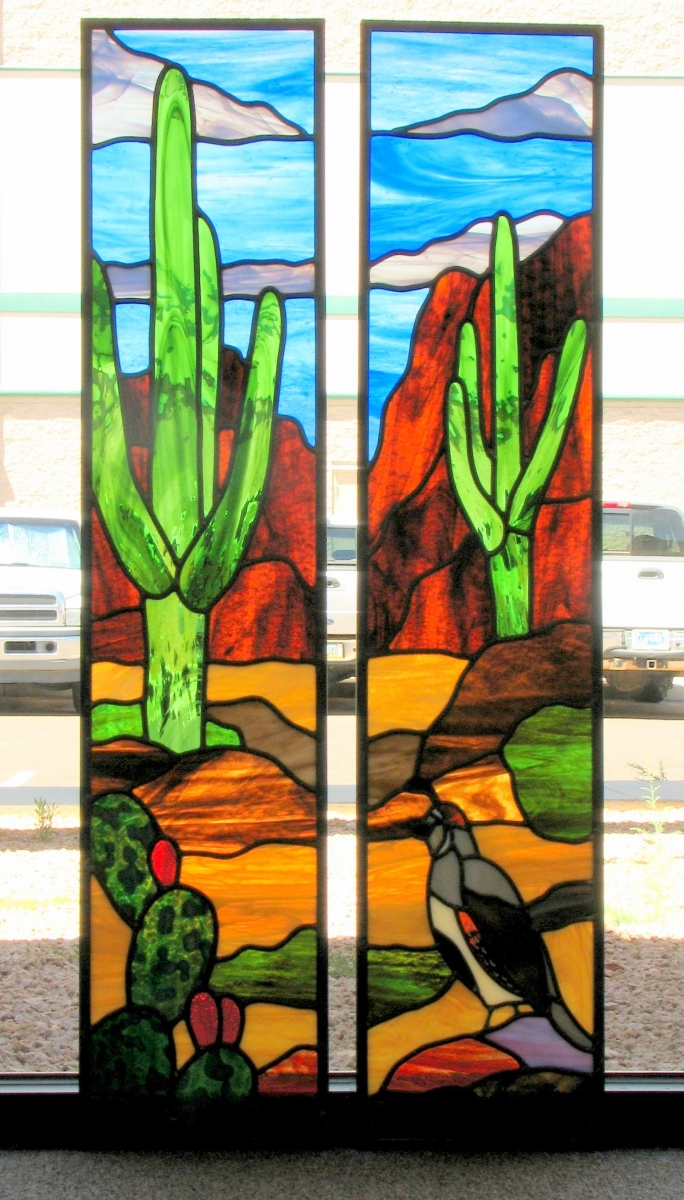 Custom Window Examples Kachina Stained Glass