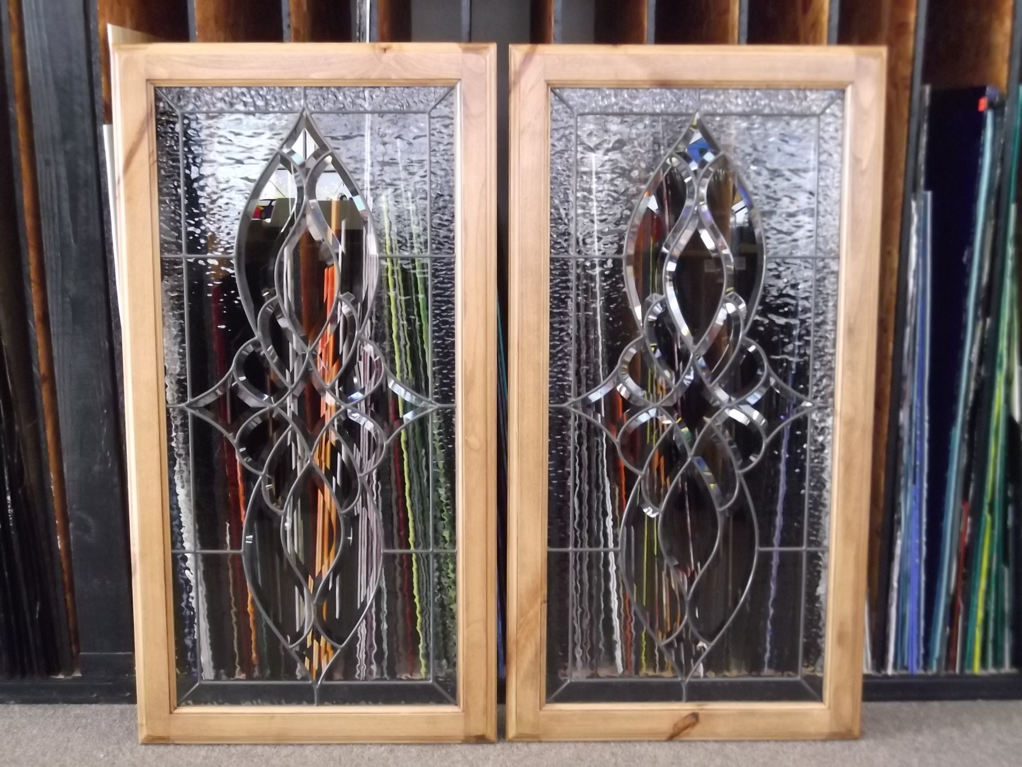 Unique Stained Glass Cabinet Doors Collection