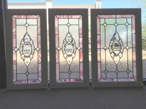 Great Stained Glass Cabinet Doors Painting